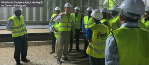 Minister of Energy and Water visits Benguela Power Plant